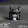 RF-018 Road Bandit – Angry Face – Painted Eyes