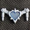 RW The Heartrix – Silver w/ Blue Heart