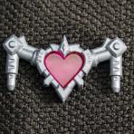 RW The Heartrix – Silver w/ Pink Heart